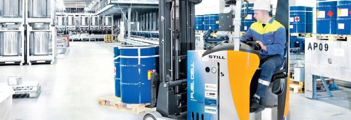 Ричтрак STILL на водородной батарее